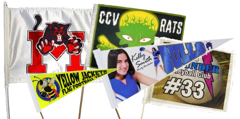 Custom Flags and Pennants