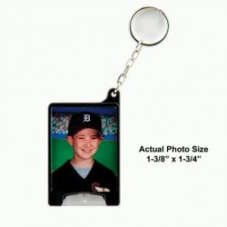 Photo Flashlight Keychain Example