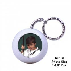 Photo Sport Ball Keychain Example