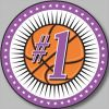 Photo Button - 1.5 inch Example. (Basketball)