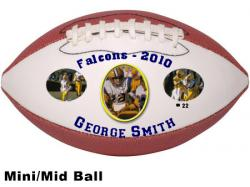 Photo Footballs Mid Sized Example