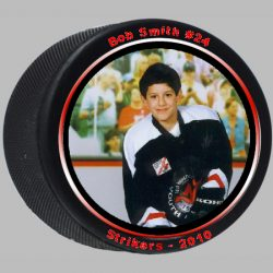 Photo Hockey Puck Example