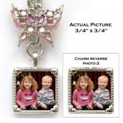 Photo Charm Keychain Example