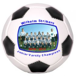 Photo Soccer Ball Full Size Example