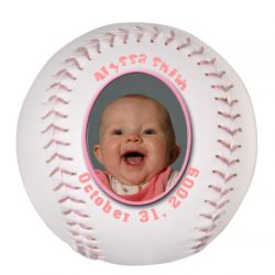 Photo Softball - Pink Threads Example