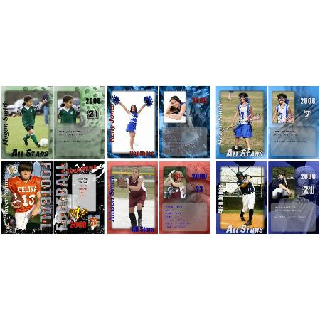 Trading Cards Example