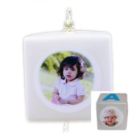Baby Block Photo Ornaments Example
