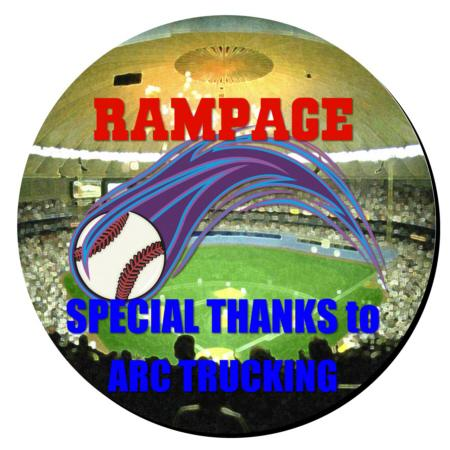 Baseball Plaque 12 Inch Example