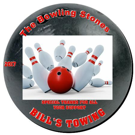 Bowling Plaque 12 Inch Example