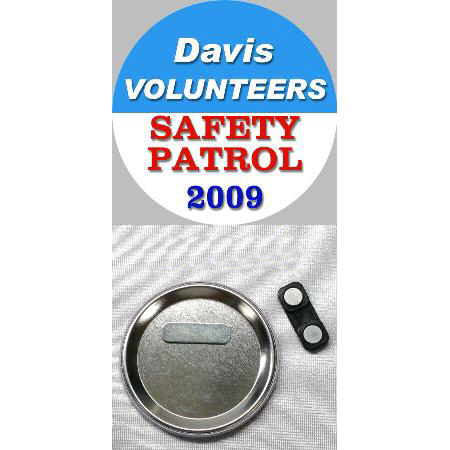 Button Badge - 2.25 inch Example