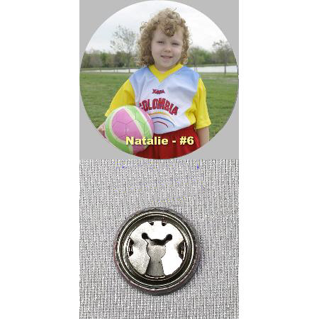 Button Cover - 1 inch Example