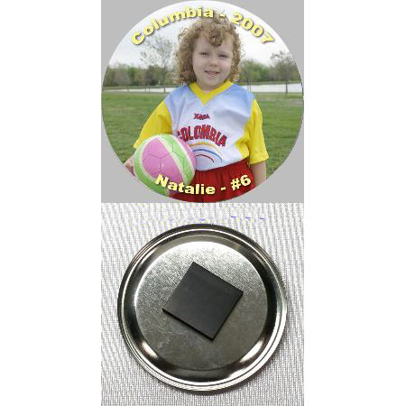 Button Magnet - 1 inch Example