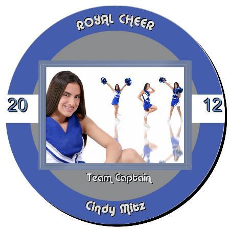 Cheer Plaque 12 Inch Example