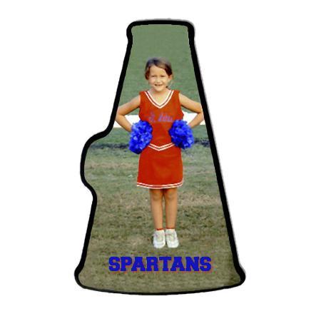 Cheerleading megaphone Example