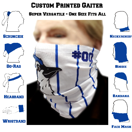 Gaiter Face Mask Example