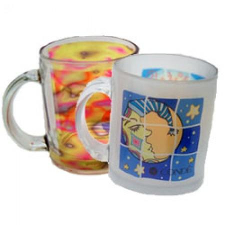 Frosted Glass Mug Example