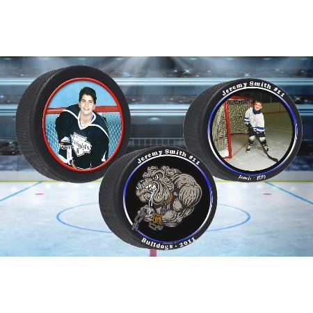 Photo Hockey Puck Example