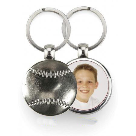 Keychain Metal - Baseball Example