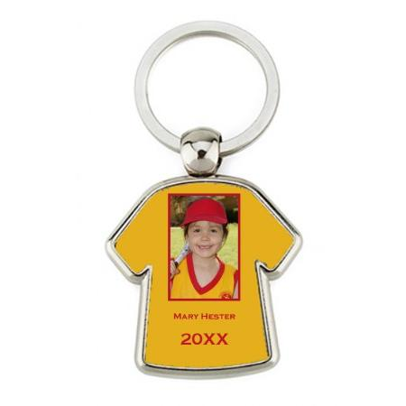 Keychain Metal - Jersey Example