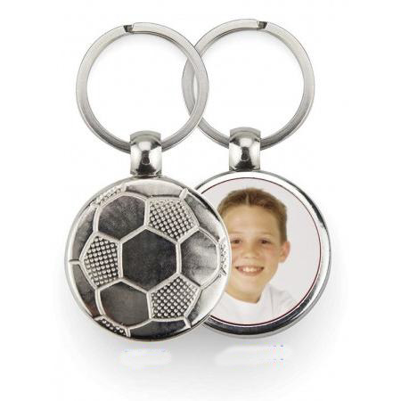Keychain Metal - Soccer Example