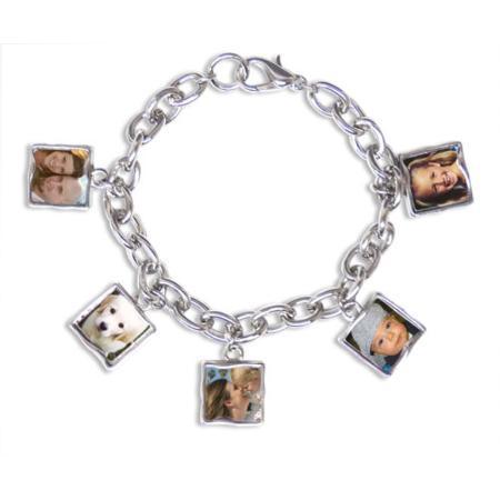 Photo Bracelet 5 Charm Example