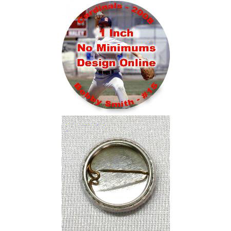 Photo Button - 1 inch Example