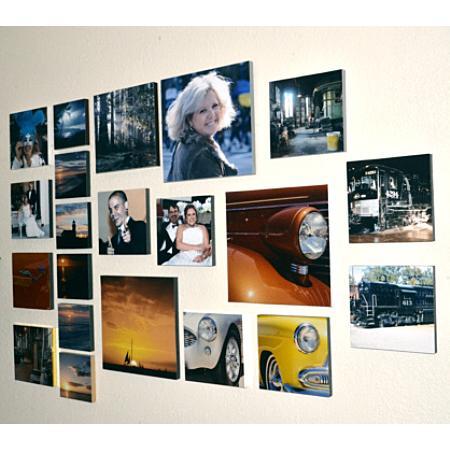 Photo Plak 10 Inch Square Example