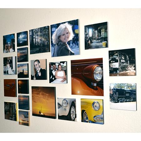 Photo Plak 12 Inch Square Example