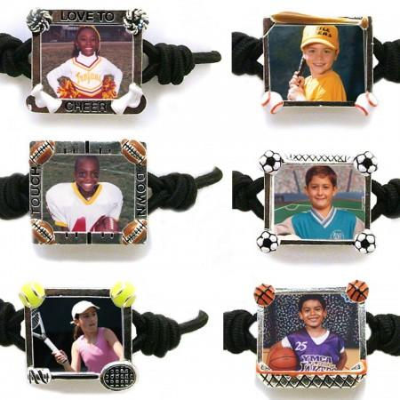 Photo Sports Bandz Bracelet Example