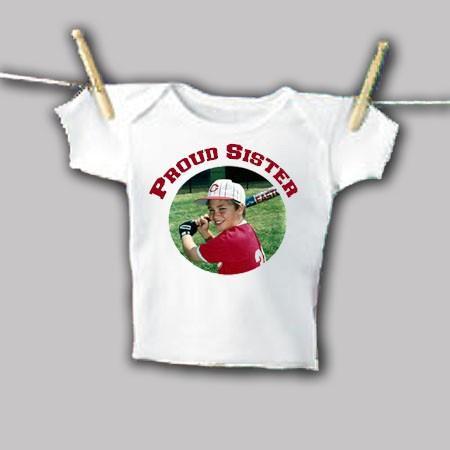 Photo Infant T-Shirt Example