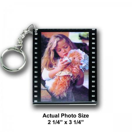 Photo Film Keychain Example