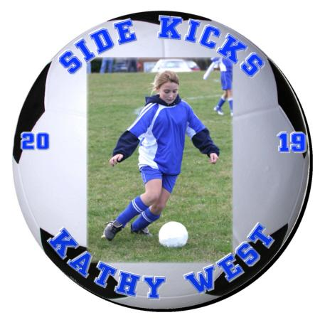 Soccer Plaque 12 Inch Example