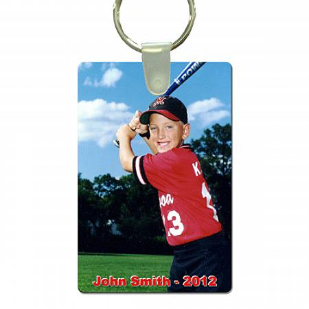 Sports Key Tag - Rectangle Example