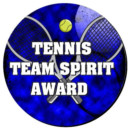 Tennis Plaque 8 Inch Example