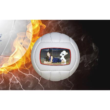 Photo Volleyballs Mini Size Example