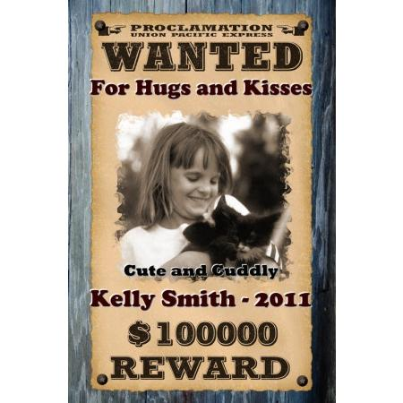Wanted Posters Personalized With Your Photo And Text