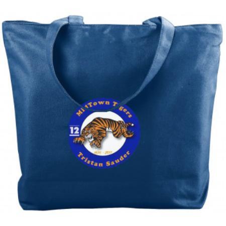 Zipper Tote Bag Example