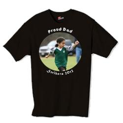 BLACK Photo T-Shirts Example