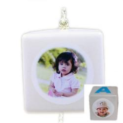Baby Block Photo Ornaments Example