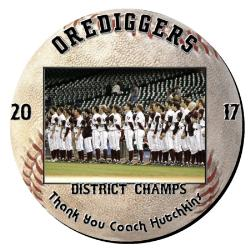Baseball Plaque 16 Inch Example