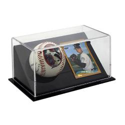 Baseball and Trading Card Holder Example