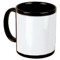 Beverage Mug - 15oz BLACK Example