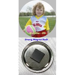 Button Magnet - 1.5 inch Example