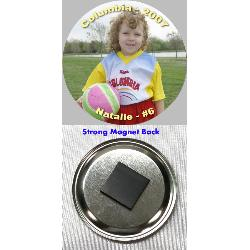 Button Magnet - 2.25 inch Example