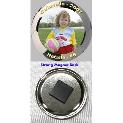 Button Magnet - 3 inch Example