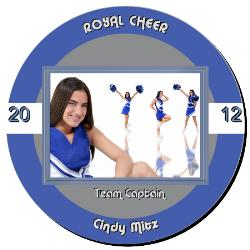 Cheer Plaque 12 Inch Example