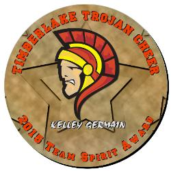 Cheer Plaque 16 Inch Example