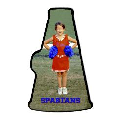Cheerleading megaphone Example