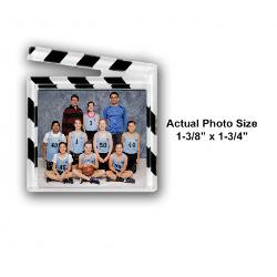 Clapboard Photo Magnet Example