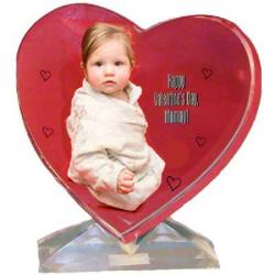 Photo Crystal - Fancy Heart Example